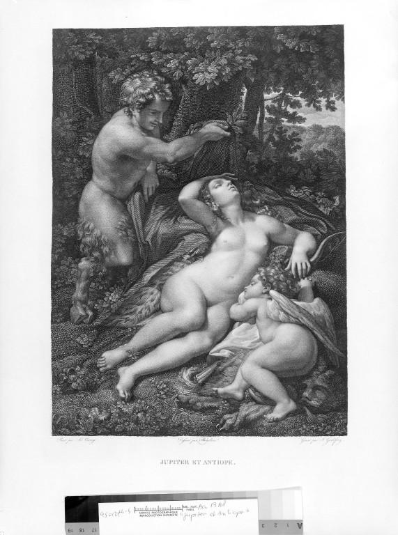 Jupiter i Antiope